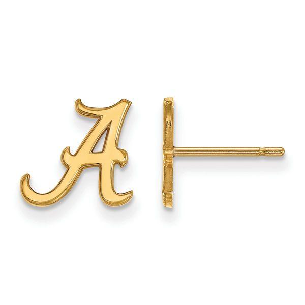 Alabama Crimson Tide Women's Gold Plated XS Post Earrings - $59.99