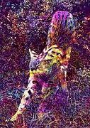 """New artwork for sale! - """" Serval Cat Predator Animal Wild  by PixBreak Art """" - http://ift.tt/2gMFftm"""