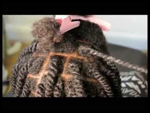 ▶ CHILDREN TWO STRAND TWIST FOR AFRO & MIXED RACE HAIRS - PAIN-FREE - YouTube
