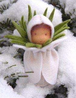 Sneeuwvrouwtje -licht -web