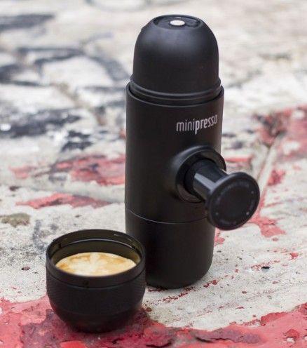 Avec Minipresso, assurez-vous de profiter d'un délicieux expresso n'importe où, à tout moment.
