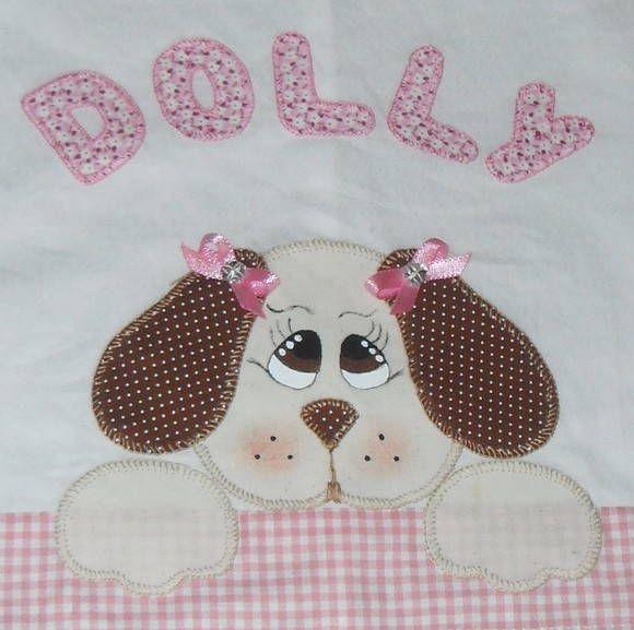 Kit para cachorro em patchwork