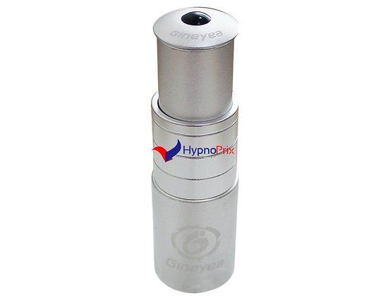 """Adaptateur potence vélo en alliage d'aluminium 1-1/8 """"Essor 117mm (Argent)"""
