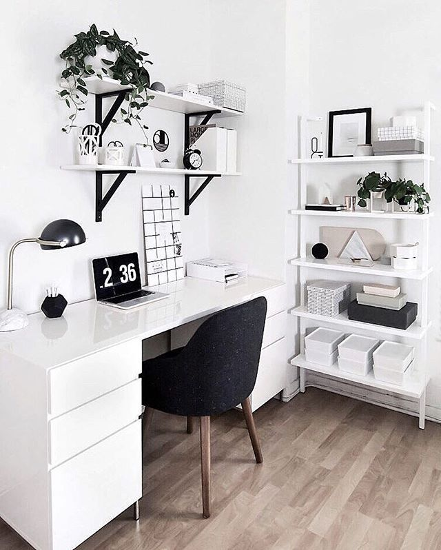 "Next in my ""where did you get that"" series is my workspace (this one's my favorite). The sources for everything in this space are now on the blog ♡ Direct link in bio! #homeyohmy.com"