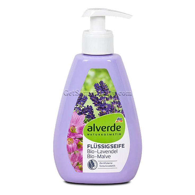 ALVERDE Natural Cosmetics Liquid Soap Bio-Lavender Bio-Malve 300 ml | Get Some Beauty