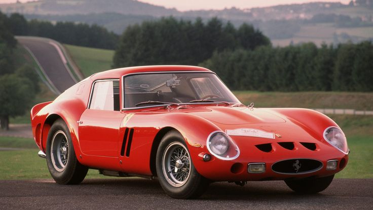 The Ferrari 250 GTO. World Record Holder as the most valuable automobile valued at over $250 million.