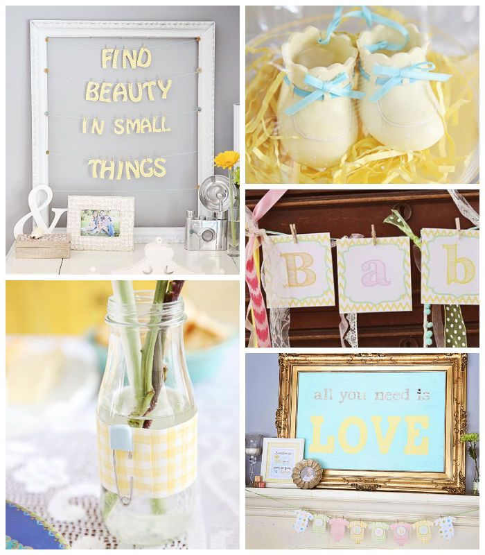 Oh Baby + Beauty In Small Things Themed Baby Shower via Kara's Party Ideas | KarasPartyIdeas.com Full of decorating ideas, cakes, cupcakes, and MORE! #babyshower #genderneutral #partydecor #partyideas