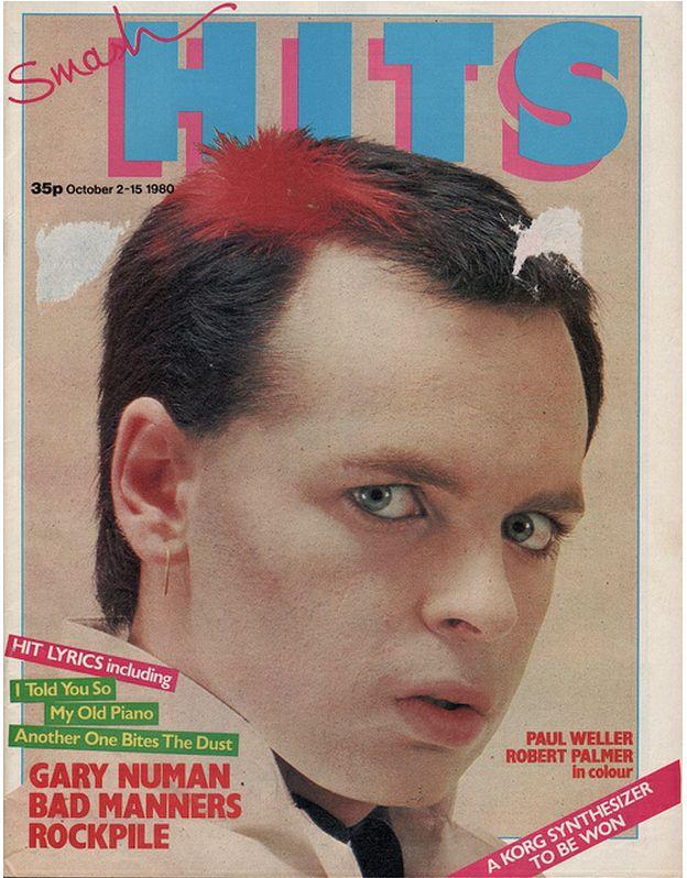 "21 Vintage Covers Of ""Smash Hits"" Magazine 2980 Gary Numan"