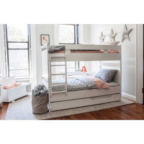 FURNITURE :: By collection :: Brookline :: BROOKLINE BUNK BED - WHITE -