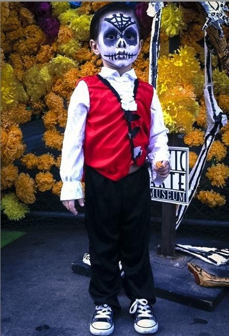 Dia de los muertos boy | Dia de los muertos | Pinterest