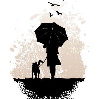 Ilustración: día gris