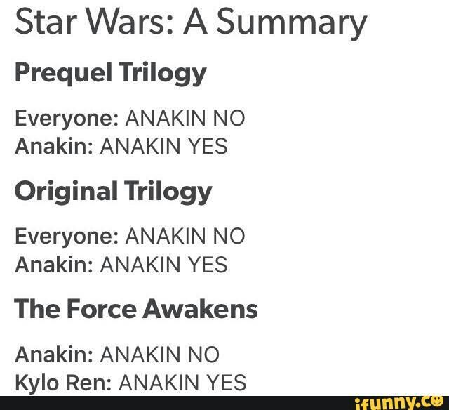 New to Star Wars? This is all you need to get caught up. XD