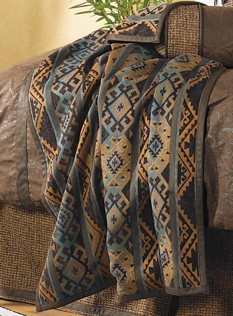 Del Rio Western Blanket