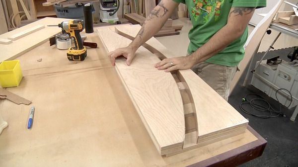How to Bend Wood and Plywood at Home: Laminations Explained