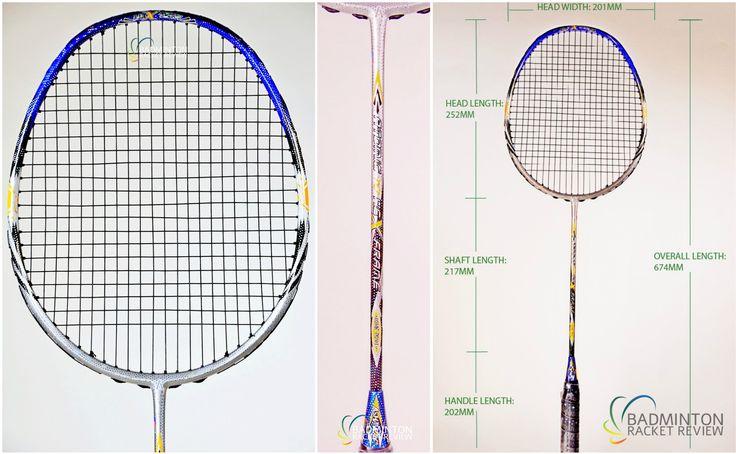 Ashaway Atomic 10 Hex Badminton Racket