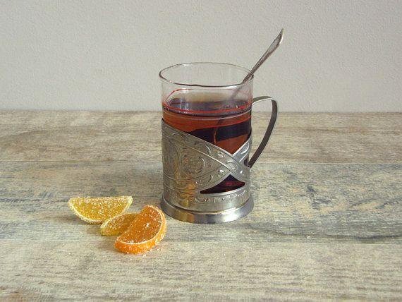Vintage Soviet Tea Glass Holder