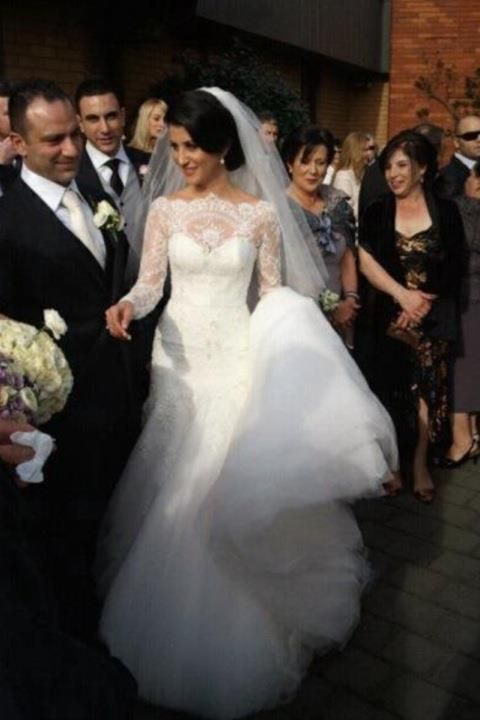 17 best images about bridal bliss on pinterest kim for Steven khalil wedding dresses cost