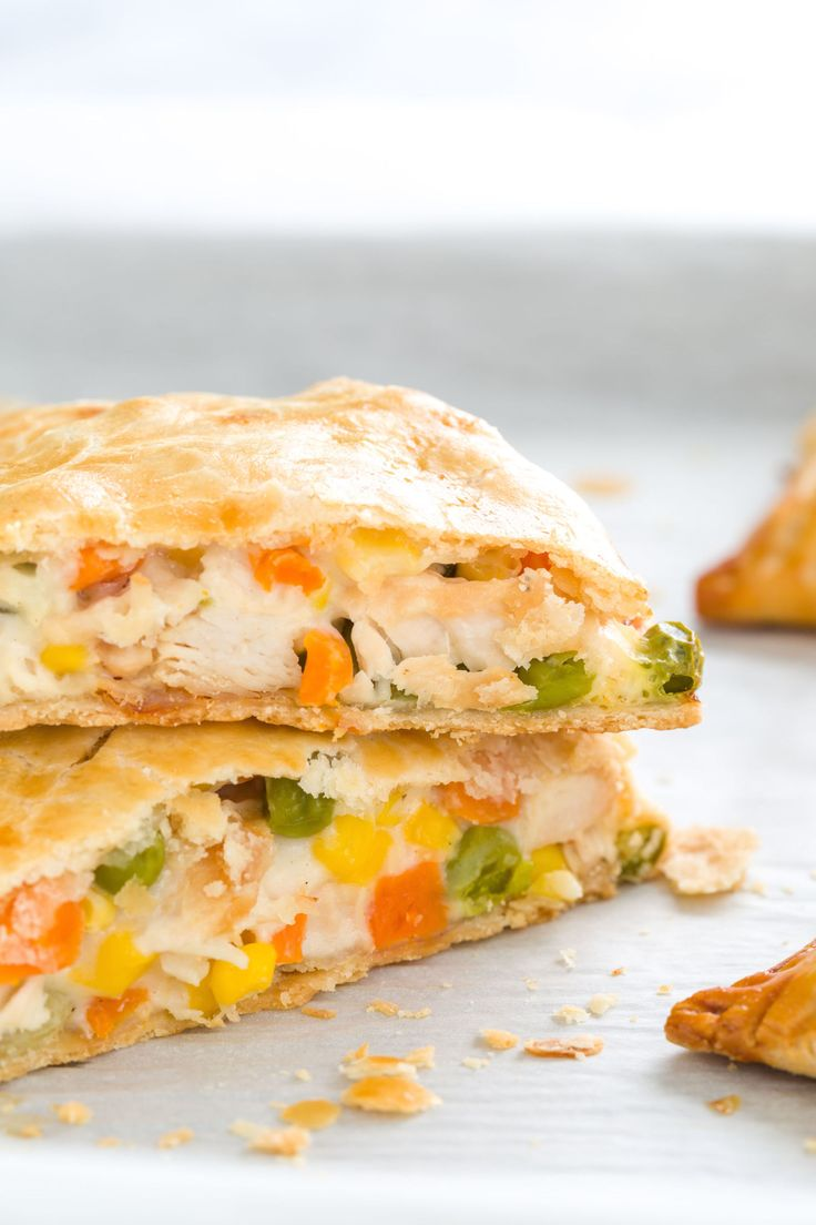 Eat your fave comfort food on the go with this dinner pie. Get the recipe.   - Delish.com