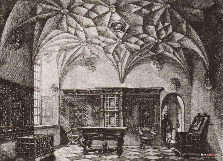 Wnętrza, Gdańsk - 1861 rok, stare zdjęcia