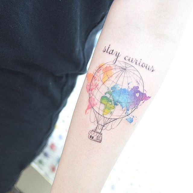 9 Best World Map Tattoo Designs Ideas And Meaning For