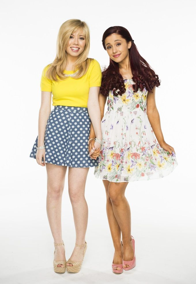 Jeannette McCurdy and Ariana Grande of Nickelodeon show Sam and Cat styled by B. Hampton, Celebrity Wardrobe Stylist