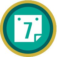 I earned the Gold level of the 7-Day Stretch badge. If finishing at least 10 books in a week were so amazing, they'd give out a badge for it. Join in the fun with a free Audible trial: https://www.audible.com/t1/badges_at?source_code=AIPORWS04241590BH