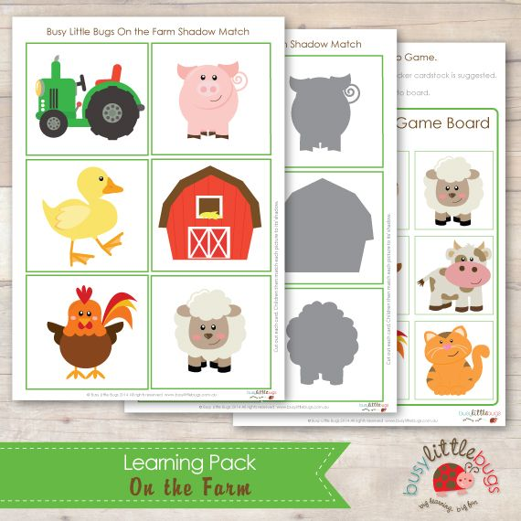 Image result for farm matching game printable