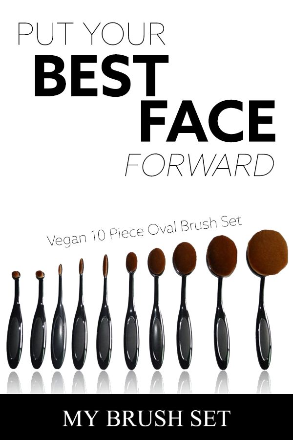 From highlighting to contouring, this 10-piece set gives you endless ways to get ready for the day. These round brushes are perfectly designed for blending foundation, blush or powder. And don?t worry, Eco babes. All parts of this set are made from high quality materials, not animals.