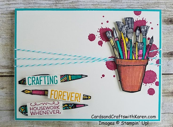 PCC244 - Sneak Peek of the new Crafting Forever stamp set by Stampin' Up! available June 1, 2017