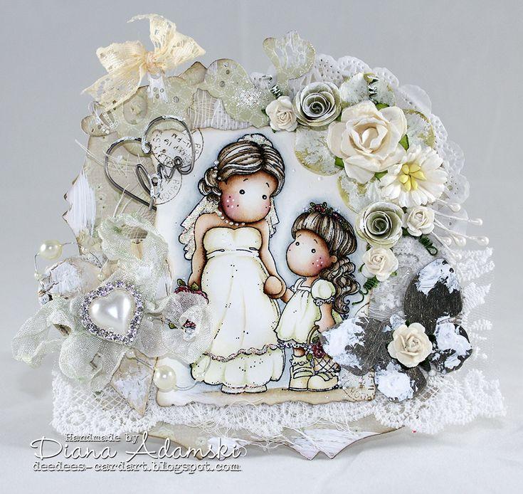 DeeDee´s Card Art: ♥ Happy Easter ♥ Live & Love Crafts DT - Vintage Wedding ♥