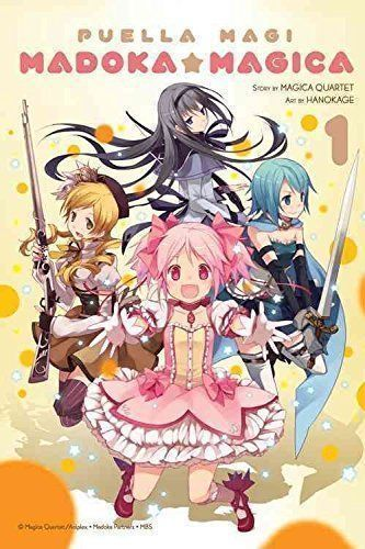 Puella Magi Madoka Magica Vol 1 Magica Quartet Hanokage