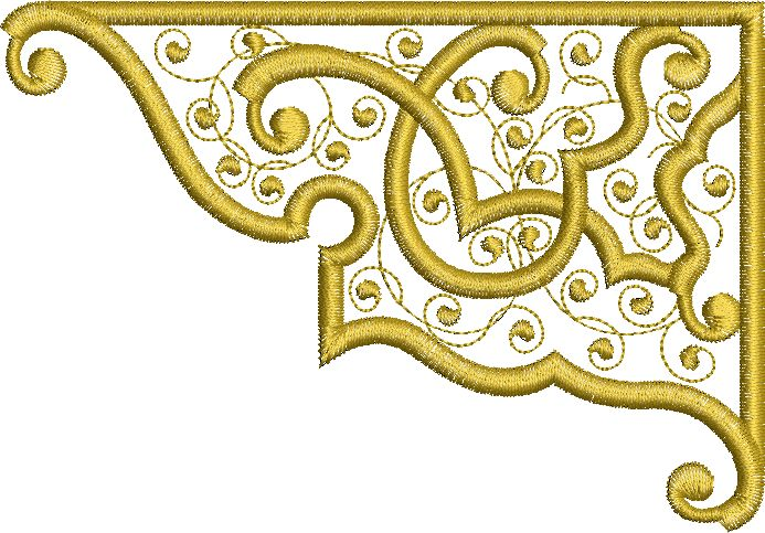 Sue Box Creations Fretwork embroidery design