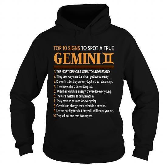 True Gemini T-Shirts & Hoodies
