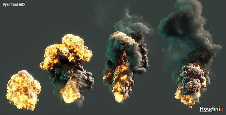Houdini Pyro Explosion Shader TutorialComputer Graphics & Digital Art Community for Artist: Job, Tutorial, Art, Concept Art, Portfolio