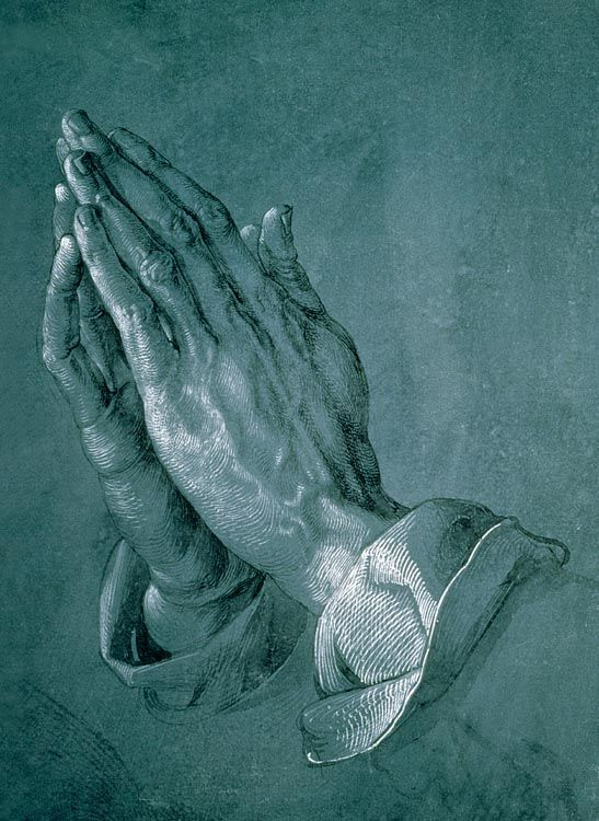 The Praying Hands - 500pc Jigsaw Puzzle by TOMAX