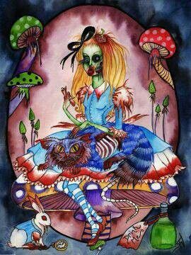Alice In Wonderland Zombie TATs And Toos Pinterest