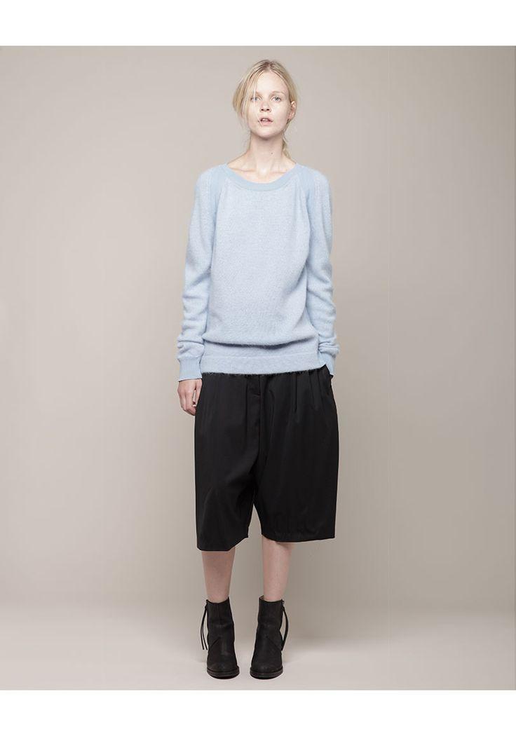 Acne / Micah Angora Pullover Skye #Blue     #fashion