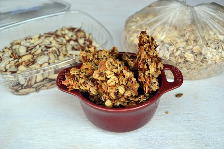 how to make granola cluster cereal