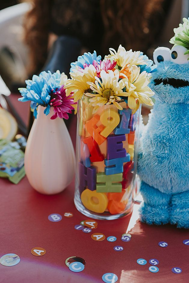 Best 25 Sesame Street Centerpiece Ideas On Pinterest
