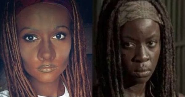 Cosplayer Called 'Racist' For Going Blackface in 'The Walking Dead' Michonne Costume