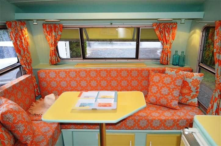 417 best camper interior decor images on pinterest vintage caravans gypsy caravan and retro. Black Bedroom Furniture Sets. Home Design Ideas
