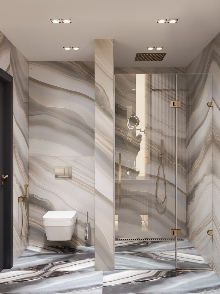 Before And After An Easy Low Risk Way To Go Bold And Big In A Small Bathroom Removable Wallpaper Bathroom Wallpaper Living Room Wallpaper Bathroom Walls