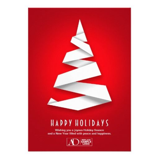 Business Christmas Cards   Corporate Holiday Card
