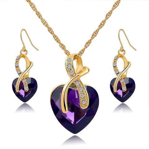 Amazing Crystal Jewelry Set - Giveaway
