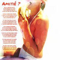 AMITIE ? (L'Amitié Homme/Femme est-elle possible ?) Ballade Rock par Francois Ville by francoisville on SoundCloud
