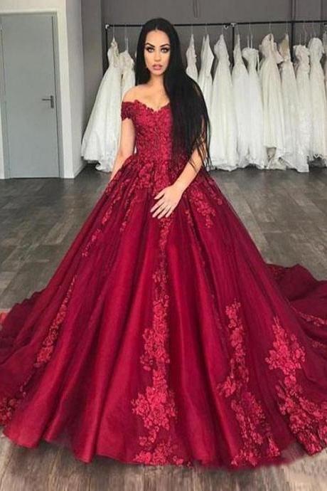 2019 Off the Shoulder Lace Evening Dress 50728ed19962