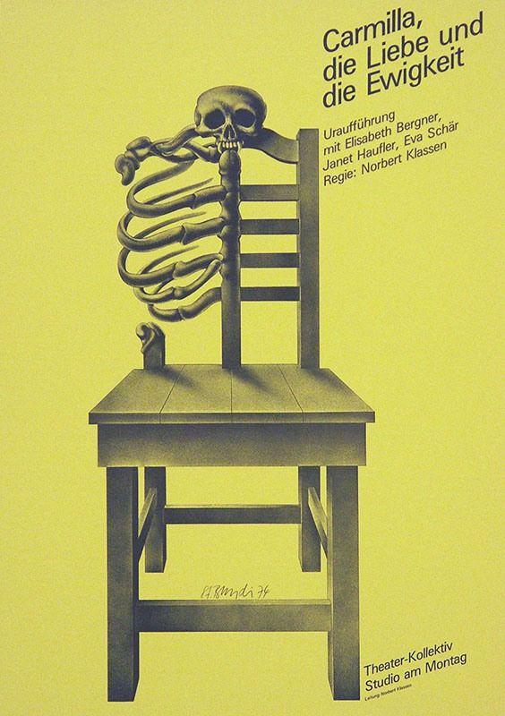 Stephan Bundi – Carmilla, die Liebe und Ewigkeit, 1974
