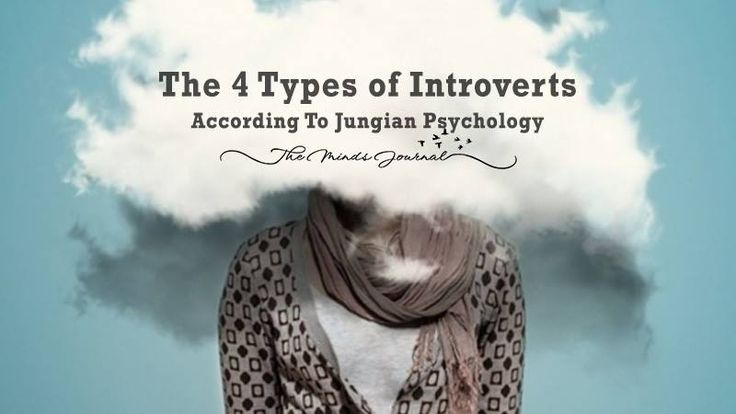 There 4 Types of Introverts (according to Jungian Psychology) - http://themindsjournal.com/types-of-introverts/