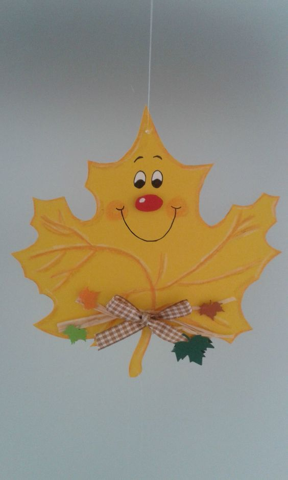 Fensterbild Blätterkette -Herbst- Dekoration - Tonkarton! • EUR 6,90: