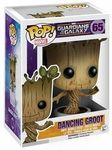 """Pop Dancing Groot vinyl figure Guardians of the Galaxy   Joining Funko's fan-favorite POP! Vinyl Figure line, the Dancing Groot, complete with flower pot, from the finale of Marvel Studios' newest hit film, Guardians of the Galaxy, is sculpted as a 3 3/4"""" tall figure in the urban, stylized design that has proven so popular with fans. Add Dancing Groot to your Guardians collection today! Window box packaging.   Pop Dancing Groot vinyl figure Guardians of the Galaxy is a pre-order item. ..."""
